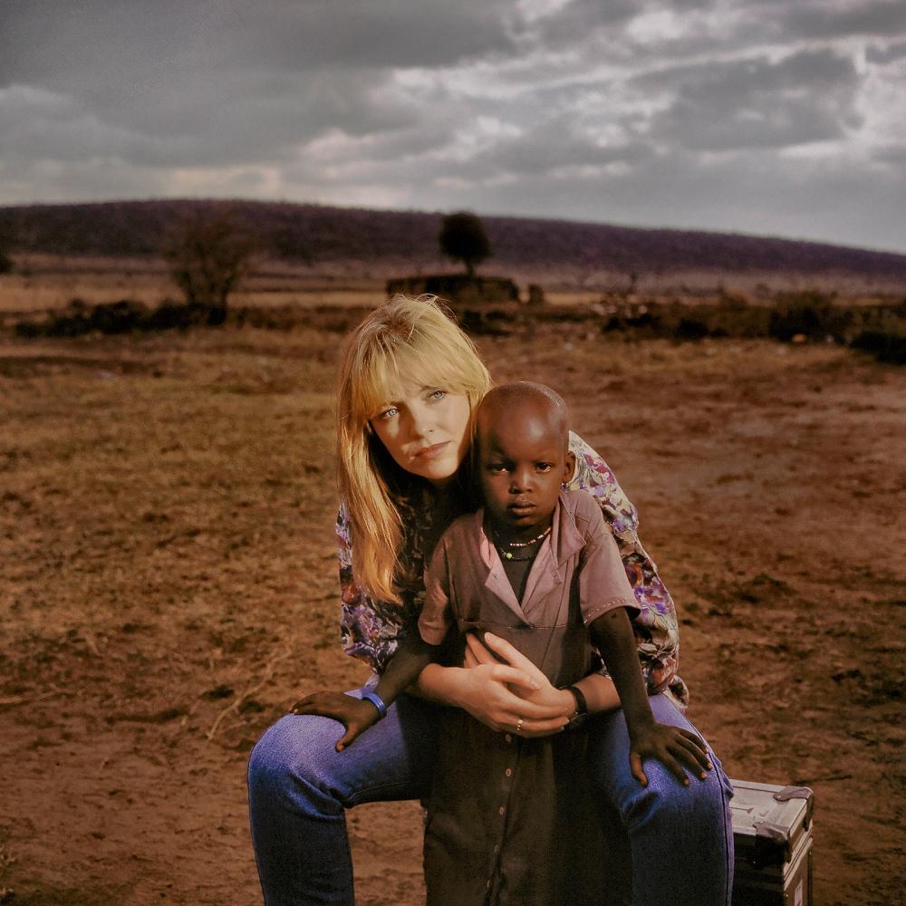 Rebecca and child, North Kenya