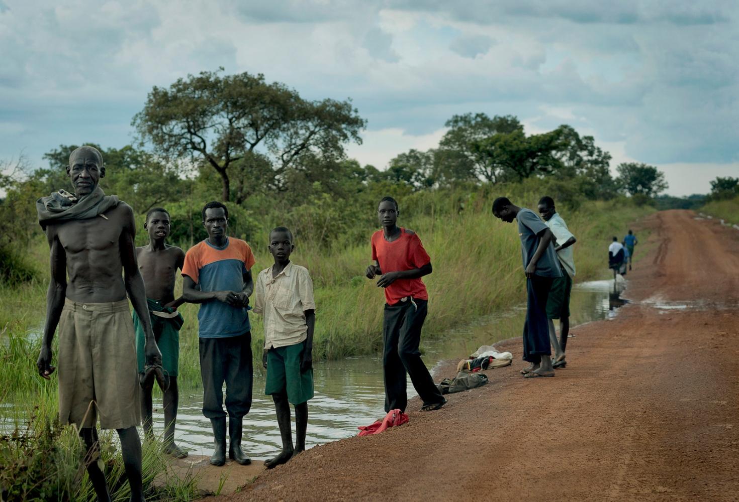 Gulu road, North Uganda