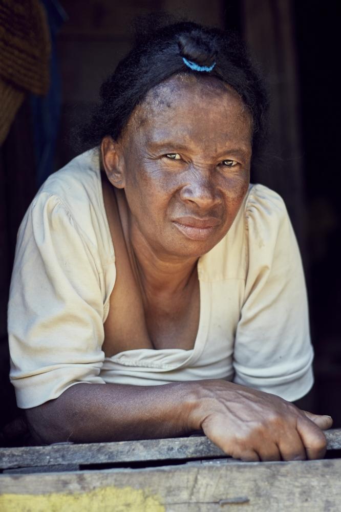 A shopkeeper in Andasibe, Madagascar.