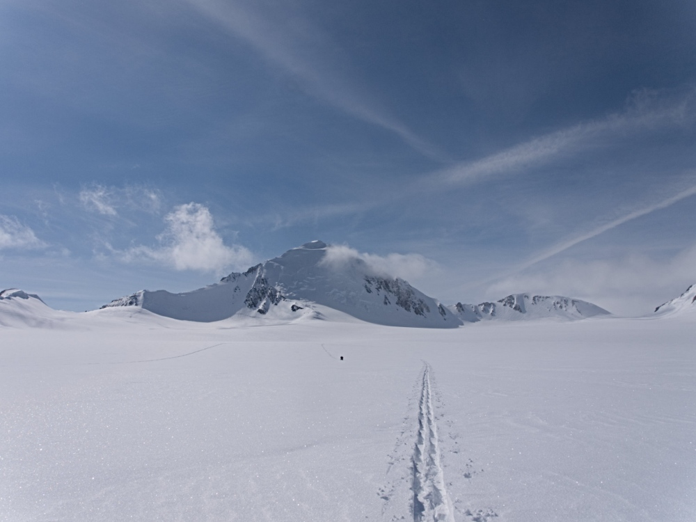 Photography image - Loading trail_in_snow.jpg
