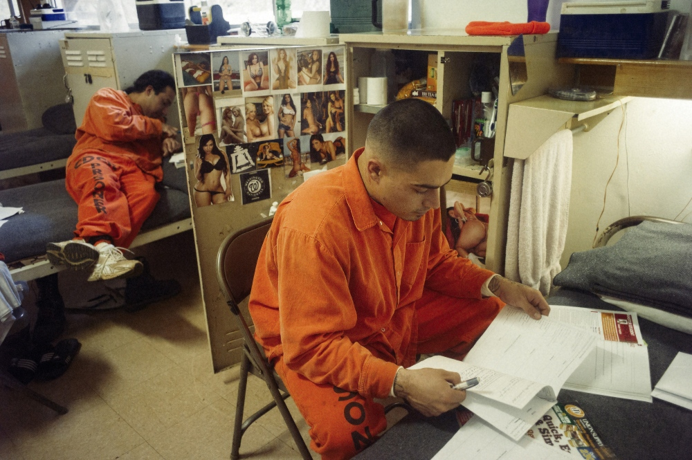 Inmates are encouraged to finish studies while they are serving their time, and many spend their down time between fires working towards a GED, or trades and college courses.