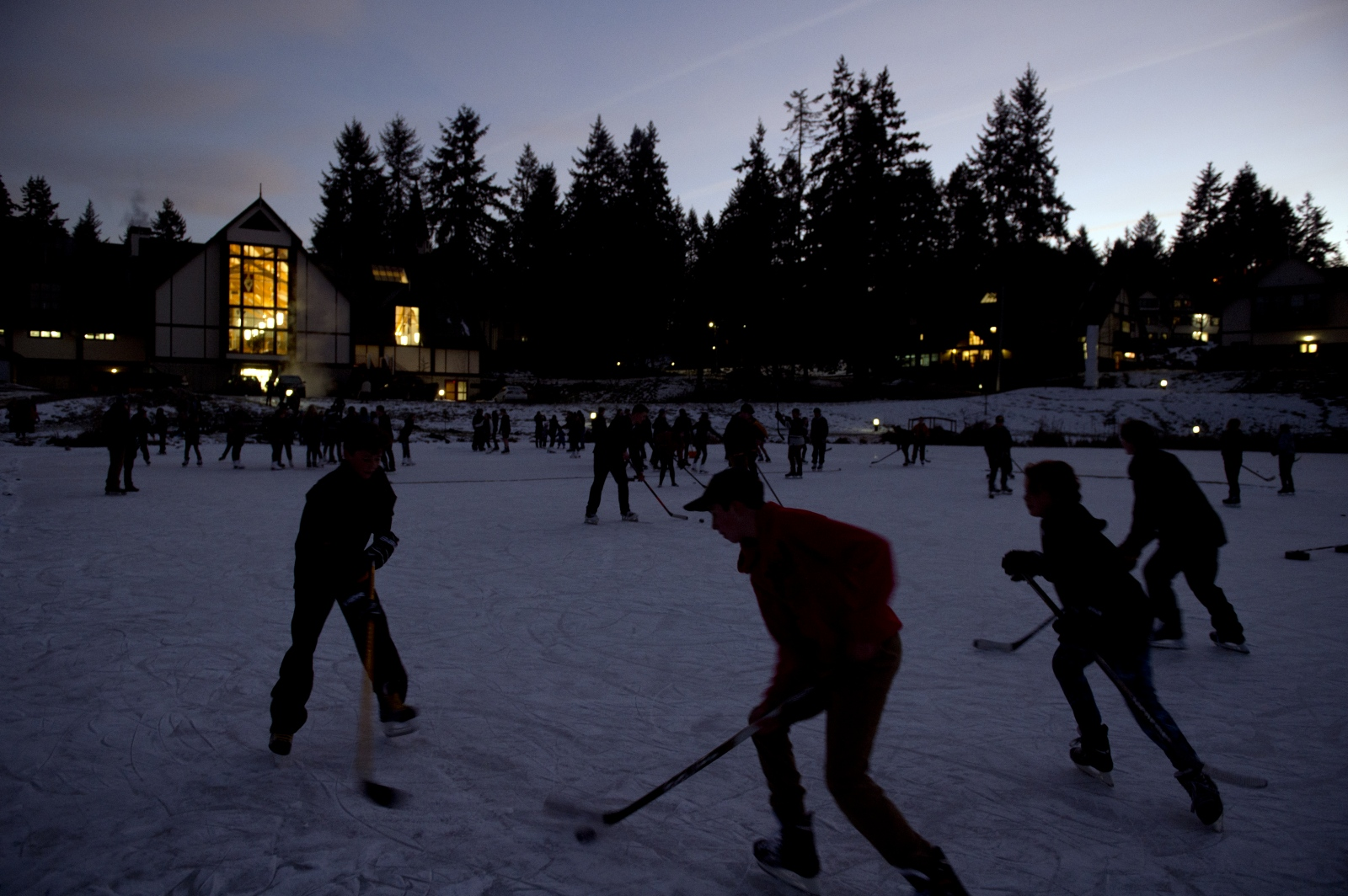 Pond hockey | Shawnigan Lake, B.C.