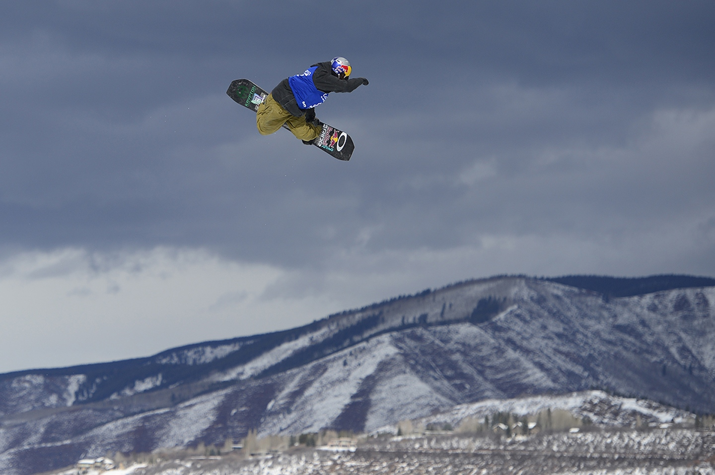 2016 Winter X Games Aspen Yuki Kadono goes for a grab on his third run during Snowboard Slopestyle Men's Final at Winter X Games 2016 at Buttermilk Mountain on January 29, 2016 in Aspen, Colorado. Mark McMorris won the event with the final score of 92.66. (Photo by Brent Lewis/The Denver Post)