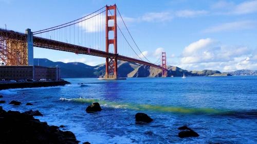 San Francisco Gate Bridge - San Francisco - CA