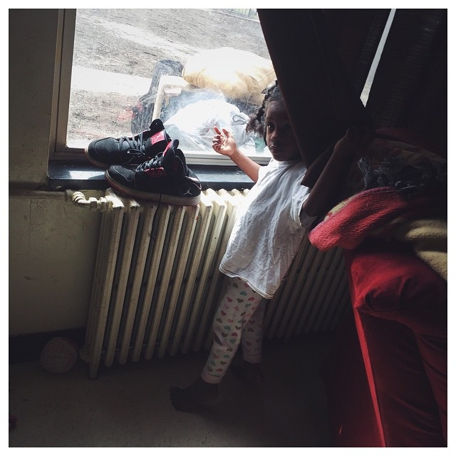 As Joshua pieces together the recliner and love seat in her living room, a young girl waits frantically by a window for her mother to return home. The mother worriedly disappeared to search for her son in projects of downtown Richmond