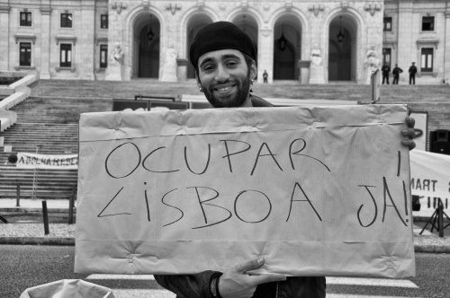 Occupy Lisbon - Photography project by Teresa Teixeira