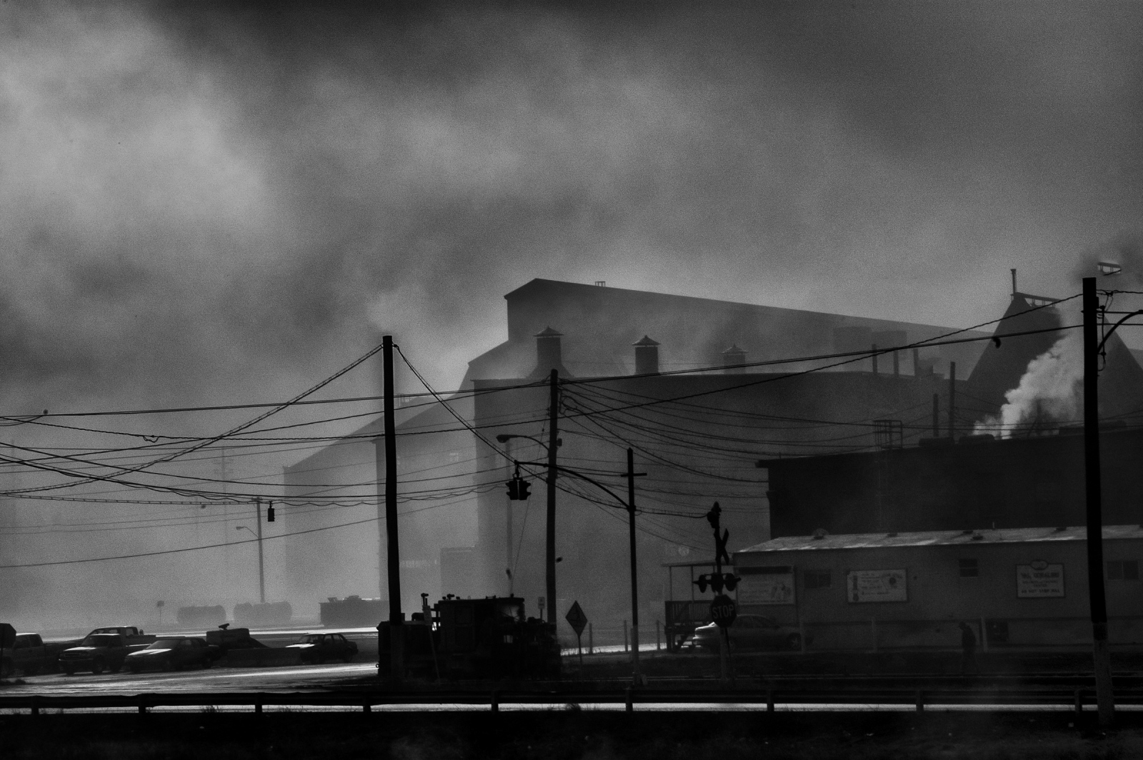 Industrial morning, Sparrows Point MD. 2009