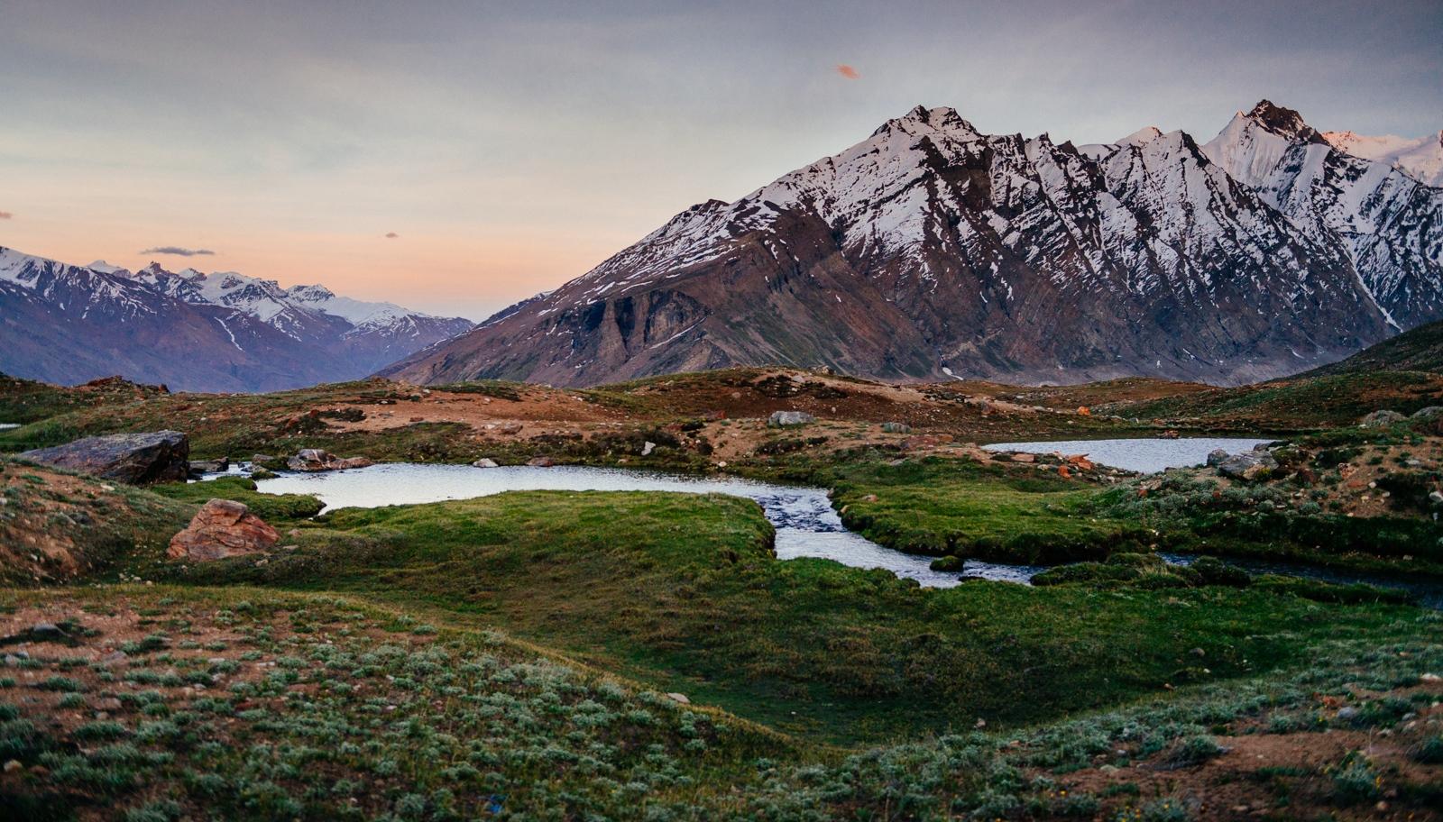 The Penzi-La Pass, Zanskar Valley, Jammu & Kashmir, India.