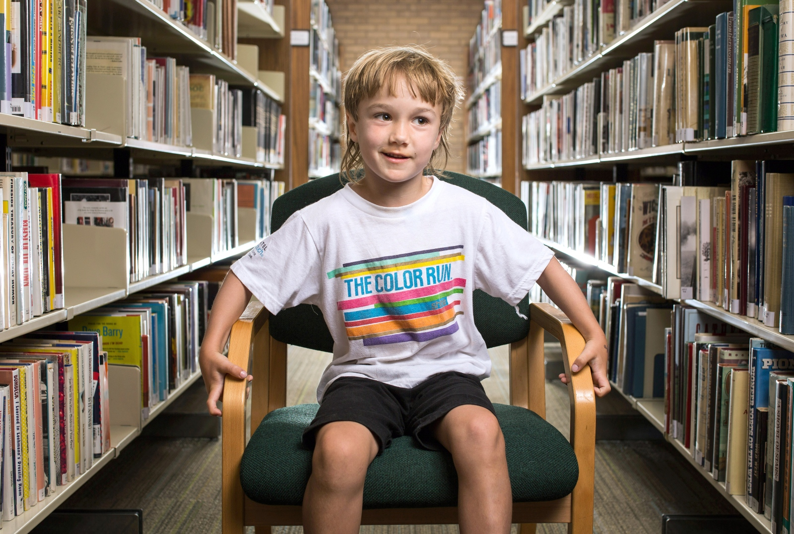 "Tanner North, 6: ""I like books about Michael Jackson. He died. And rhinos, and T-rexes. And Batman. And I like Michael Jackson movies. And superheroes. I like the Joker. He's silly."""