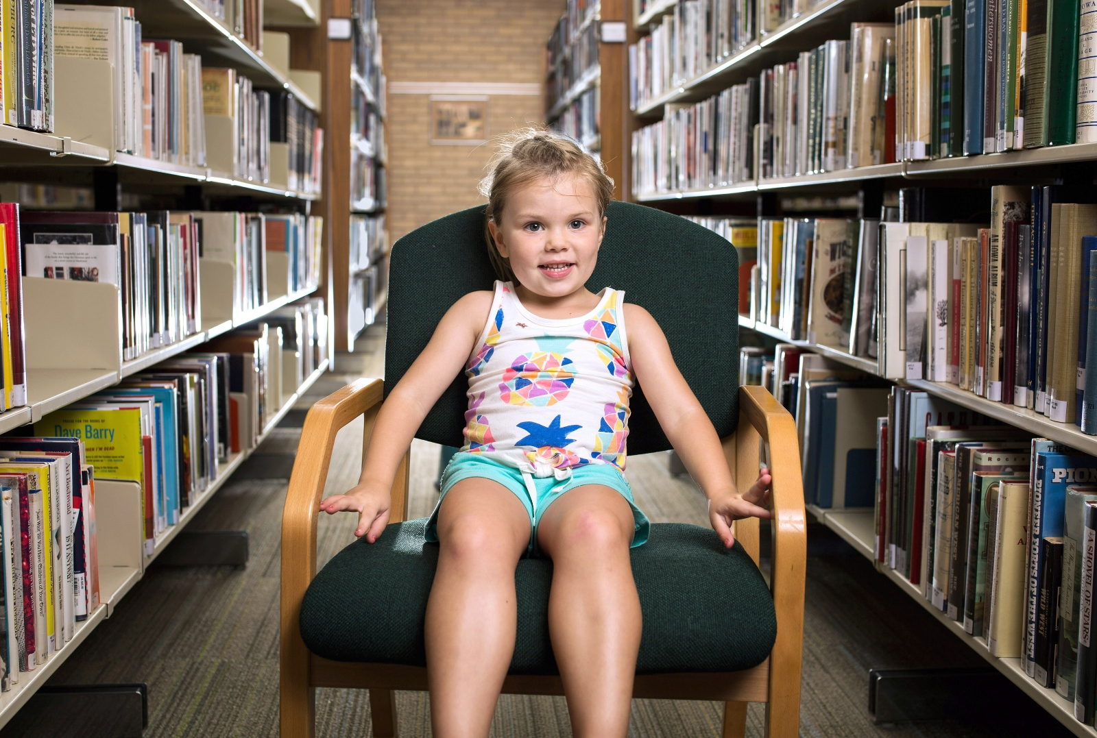 "Nora Pick, 3: ""I like monster books. They're so good. And I like Paw Patrol movies."""