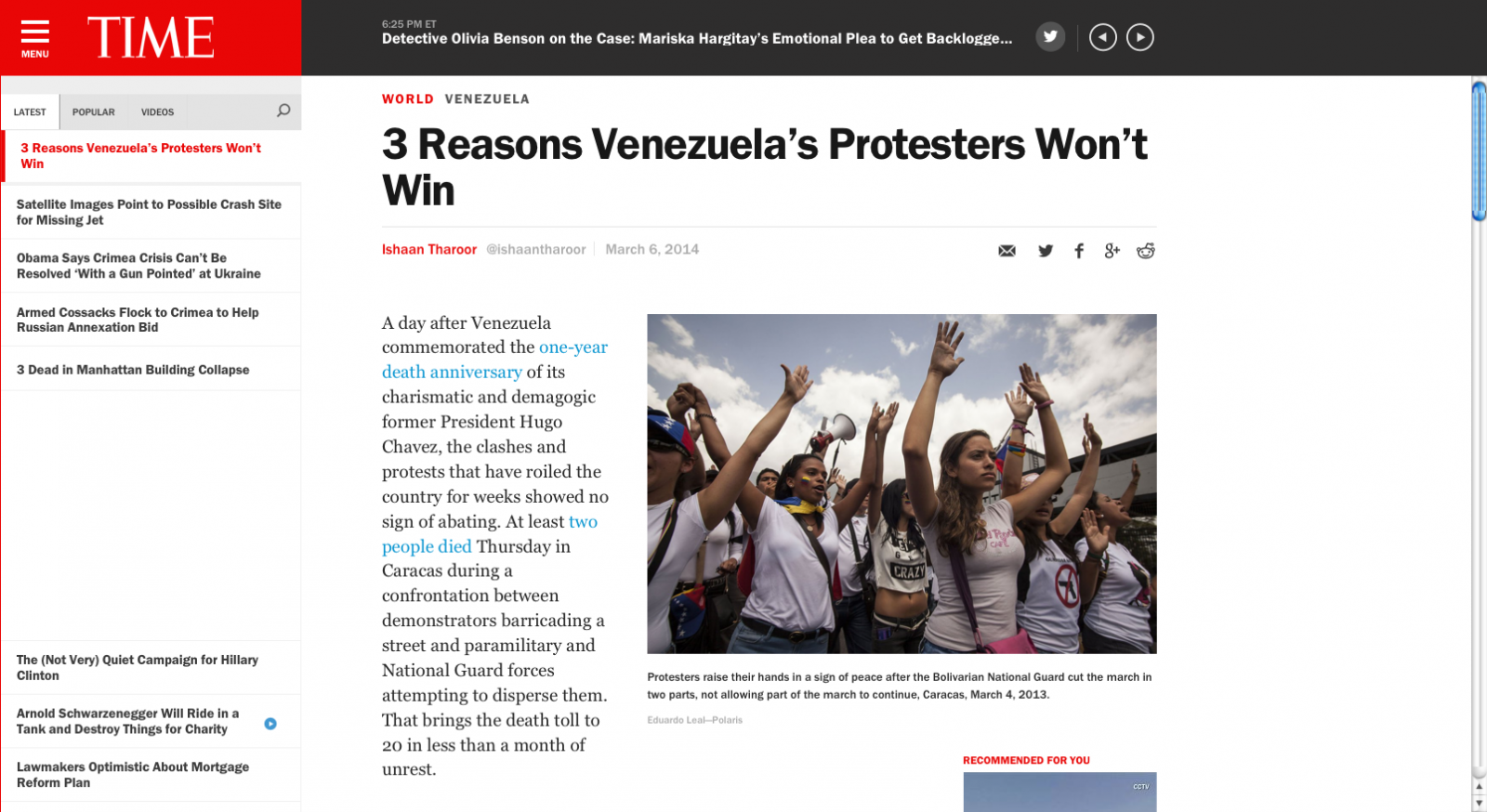 Art and Documentary Photography - Loading 3_Reasons_Venezuela_s_Protesters_Won_t_Win___TIME.com_2014-03-13_00-21-32.png