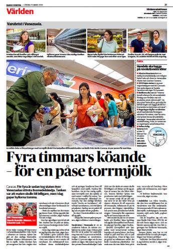 Dagens Nyheter,March 2014