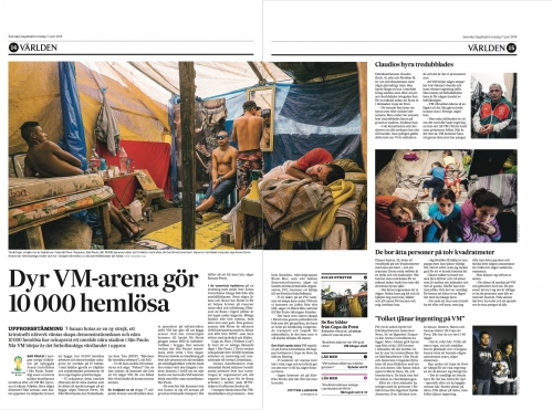 Svenska Dagbladet,June 2014