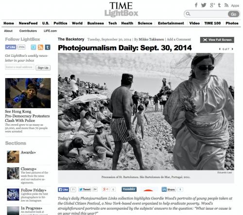 Time, September 2014