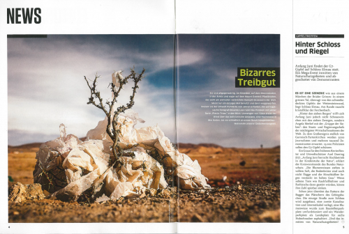 Green Peace Magazine, April 2015