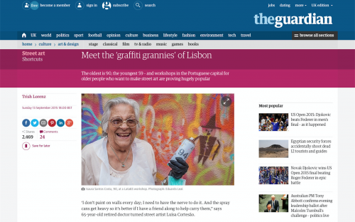 The Guardian, September 2015