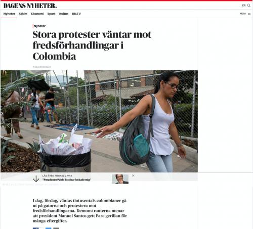 Dagens Nyheter, April 2016