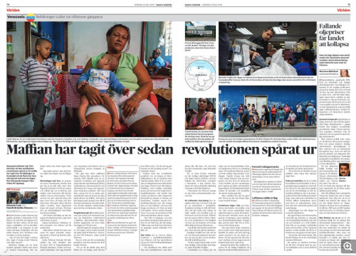 Dagens Nyheter, May 2016
