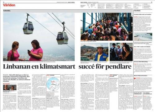 Dagens Nyheter, August 2016