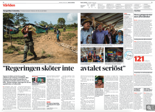Dagens Nyheter, May 2017
