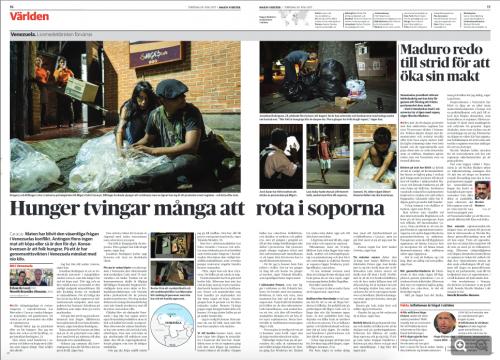 Dagens Nyheter, June 2017