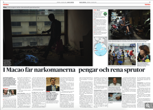 Dagens Nyheter, January 2018