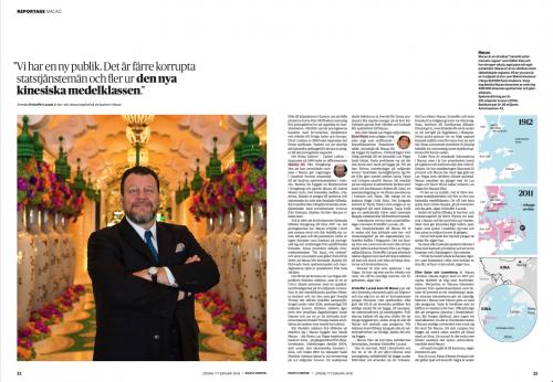 Dagens Nyheter Magazine, February 2018