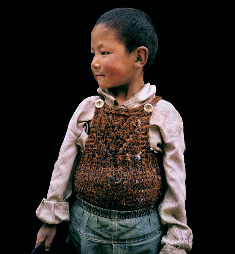 Boy in Lhasa