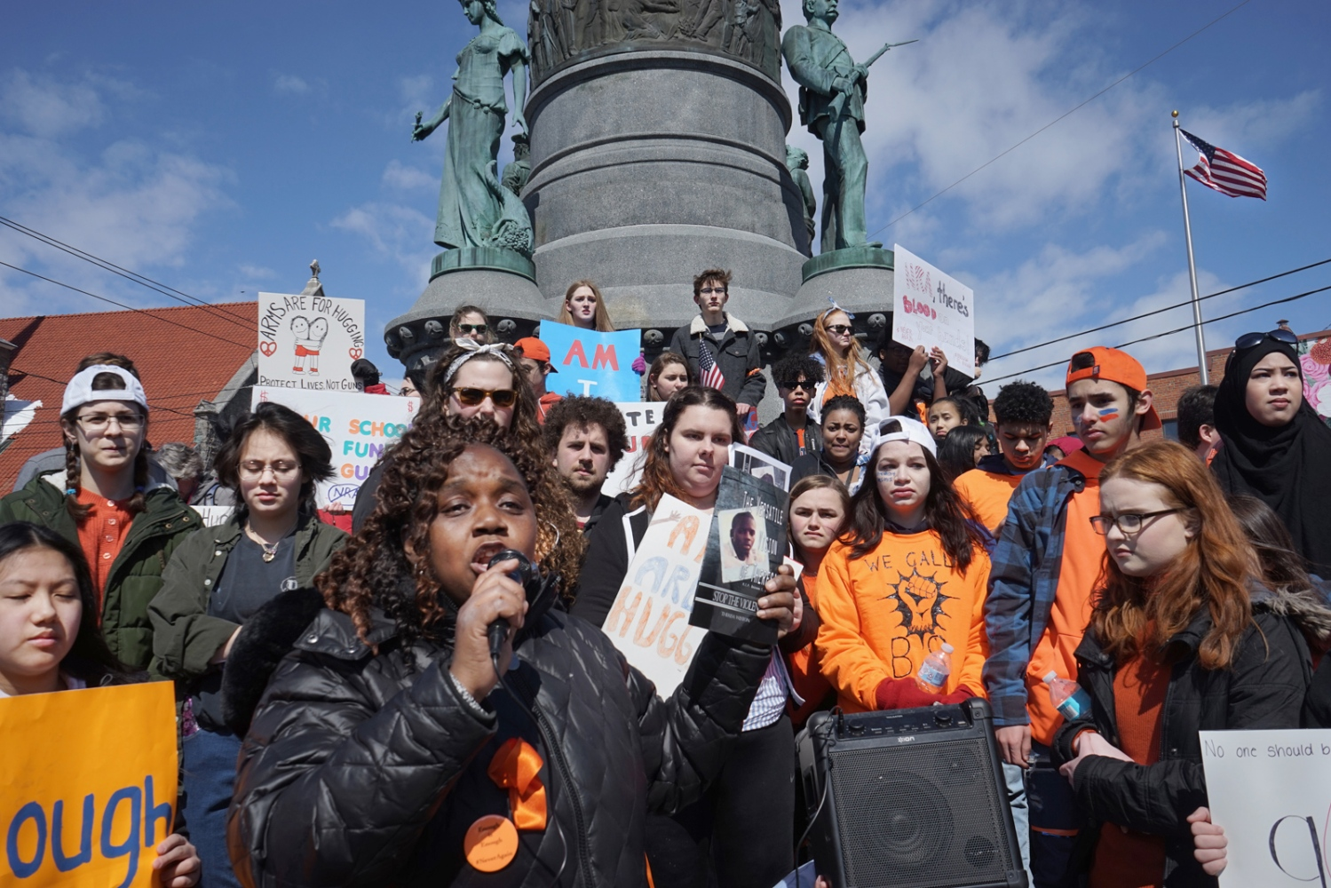March for Our Lives, Utica, NY, 24 March...