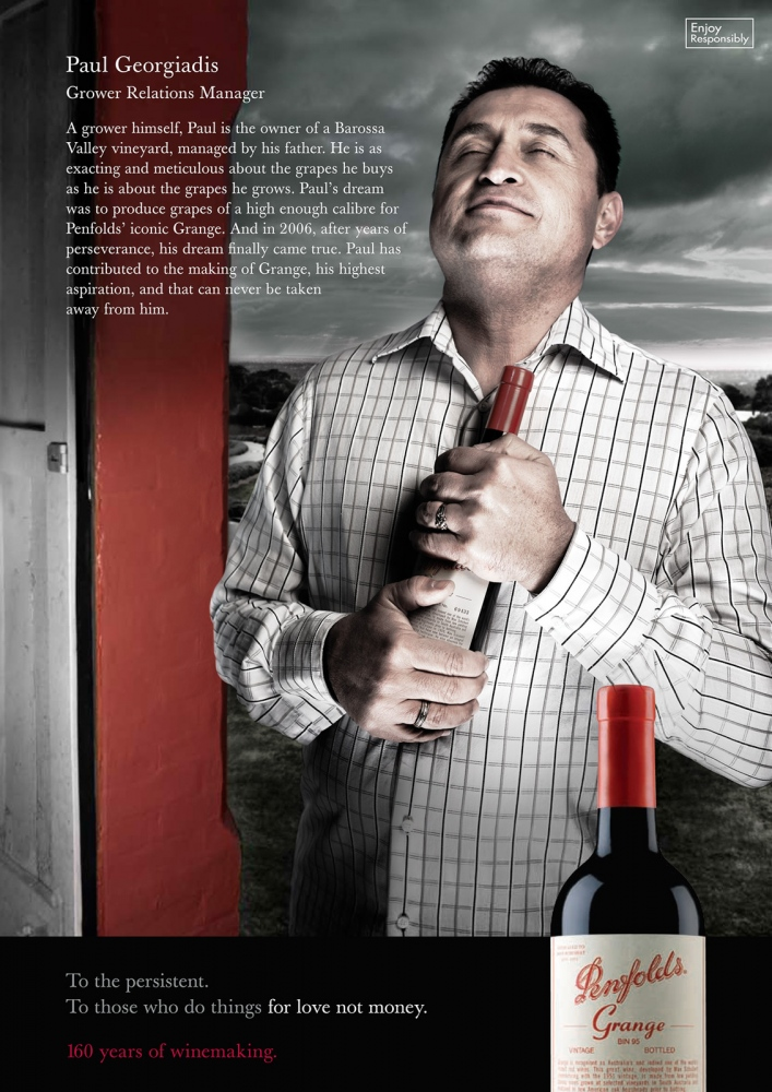 Penfolds Wines, advertising campaign.