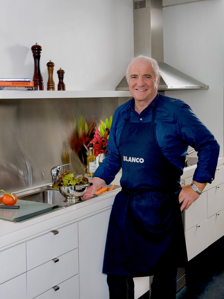 Chef Rick Stein, Blanco appliances ad.