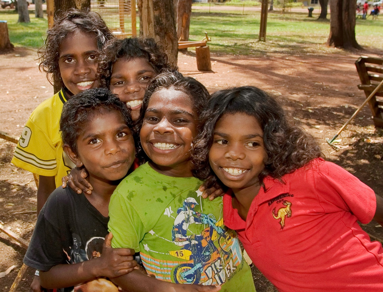 Smith Family, Ramingining, Northern Territory.