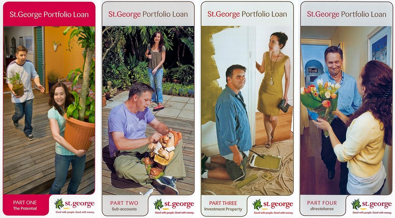 St. George Bank brochures