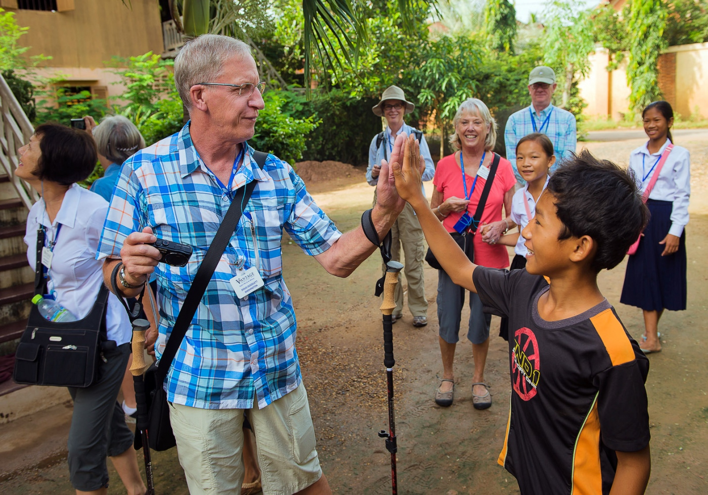 Vantage Travel U.S., Cambodia trip.