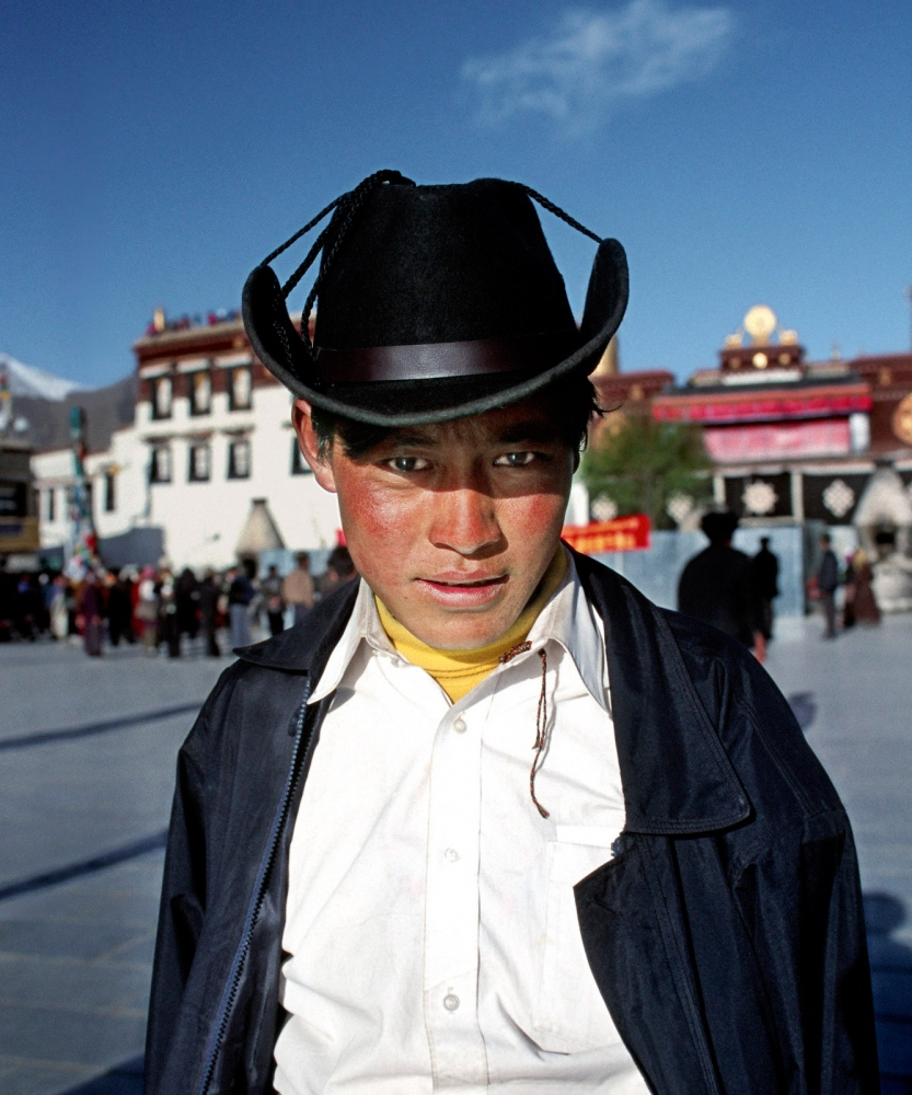 Boy near Jokhang, Lhasa