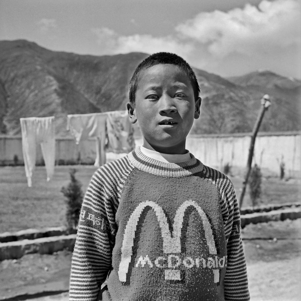 Orphan, Tibet