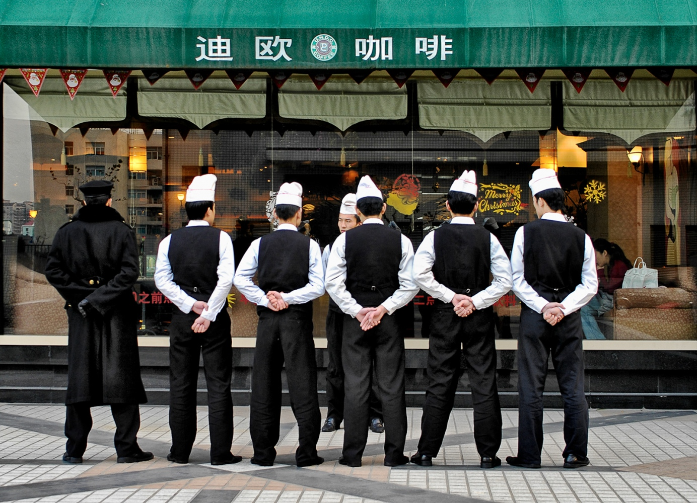 Waiters, Shanghai