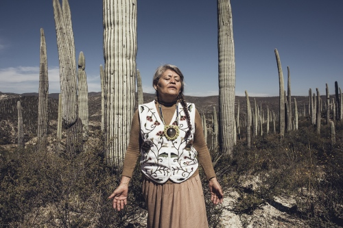 Rosa is a traditional indigenous healer from Tehuacan. The curanderas, they're often women of special competences, have to look at their patient as an all-encompassing physical, spiritual, and emotional level. They heal when the illness is provoked by a trauma or a displeasure or has even supernatural origins. Rosa uses Temazcal, a typical sweat lodges in a circular structure which originated with pre-Hispanic Indigenous peoples from the Nahuatl word. It's a curative ceremony thought to purify both body and spirit and to heal sickness. Rosa is also an activist for indigenous rights and asks her patients to reconnect with their lost traditions and the power of nature.