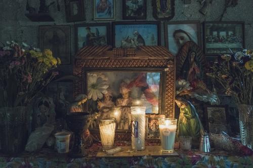 Altar.Sierra Norte, Puebla.