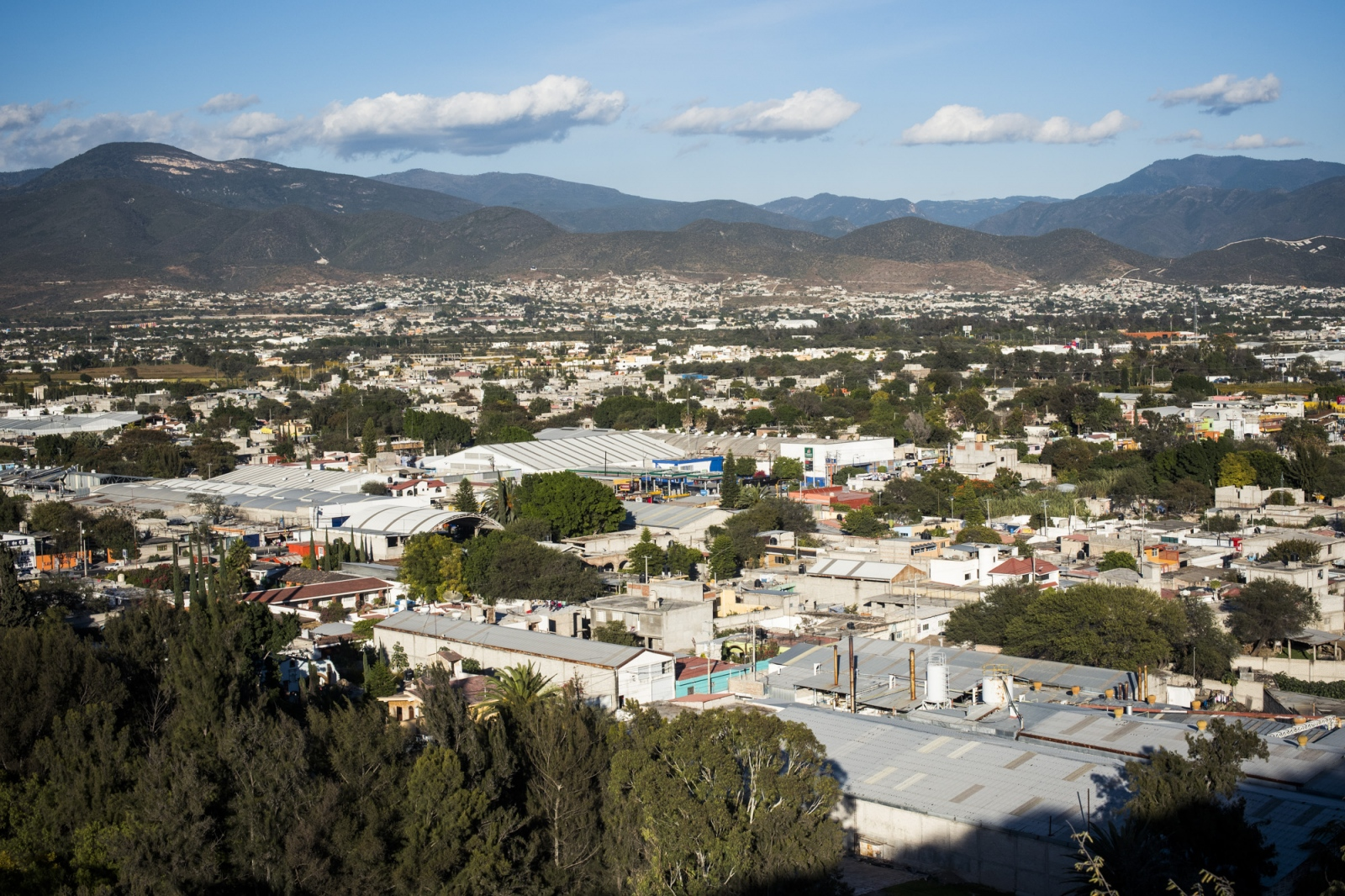 San Lorenzo Teotipilco, close to Tehuacan, where the largest number of industrial laundries is.