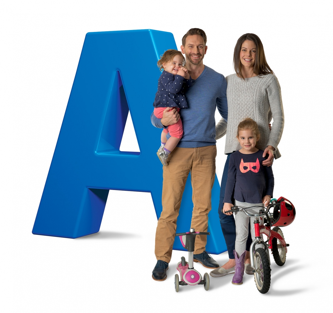 Dr Matt and family, Avant Medical Insurance ad.