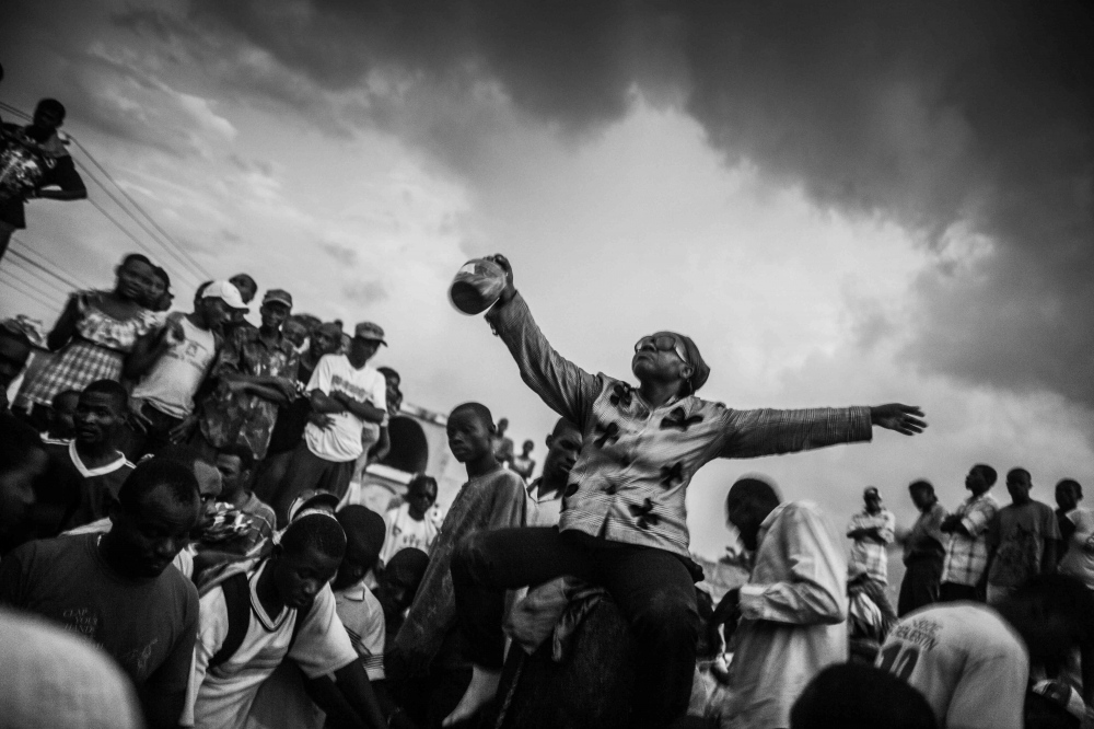 Photography image - Day of the Dead, Haiti.