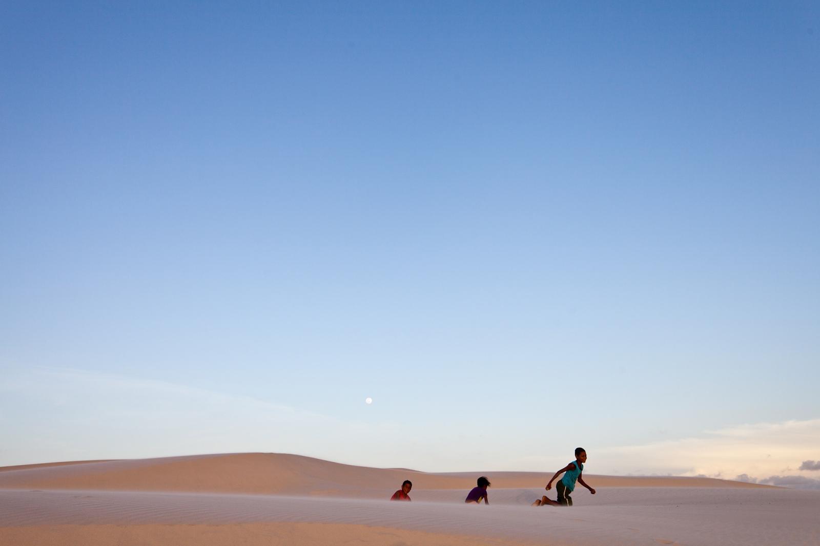 Brazil's largest sand pit: the national park of Lençóis de Maranhenses.