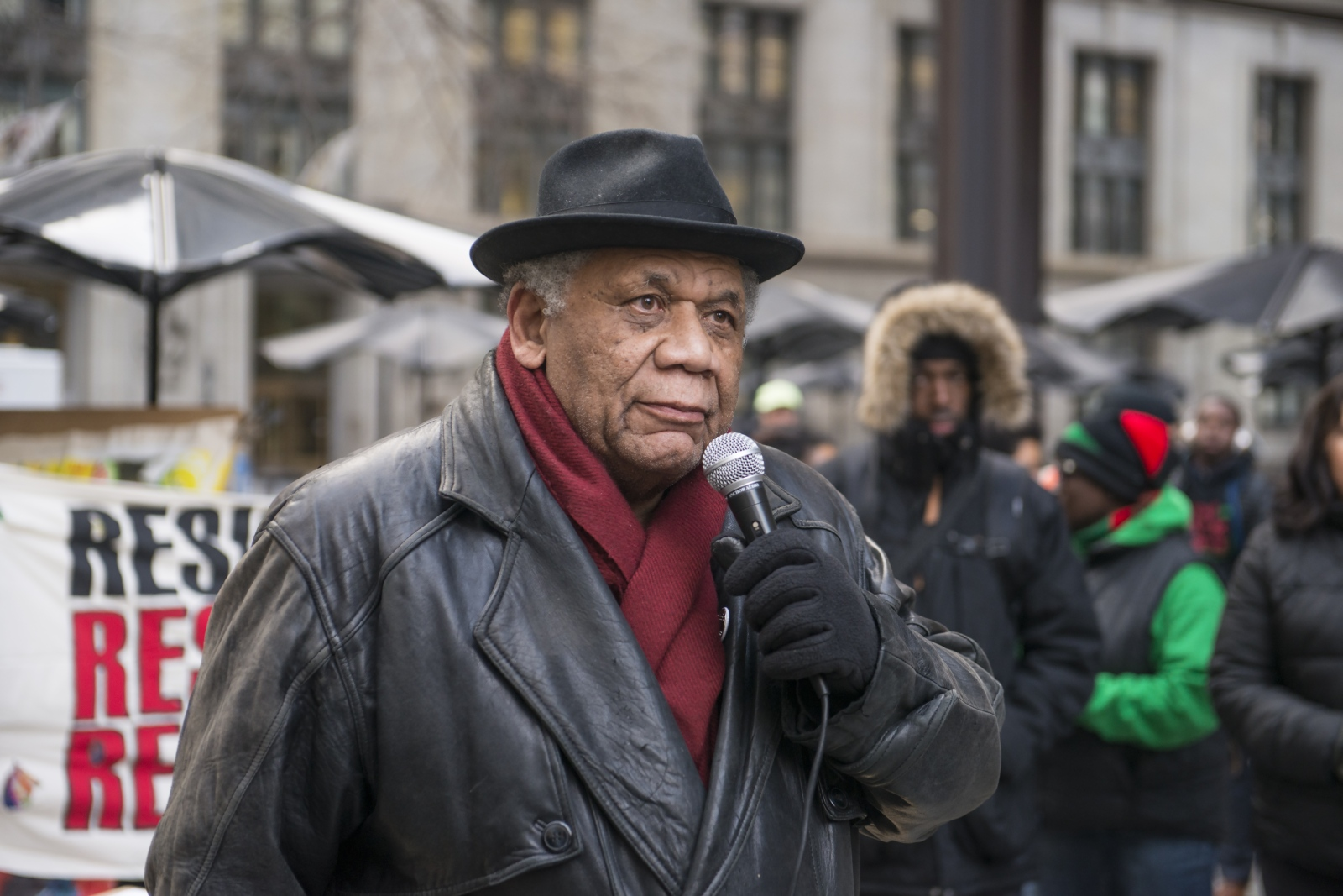 Photography image - Photos from MLK50th rally today in Chicago