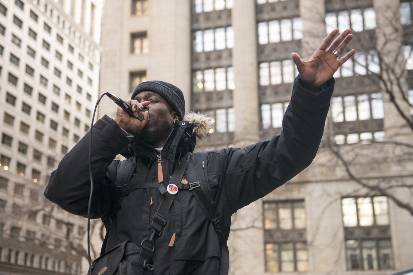 Photos from MLK50th rally today in Chicago