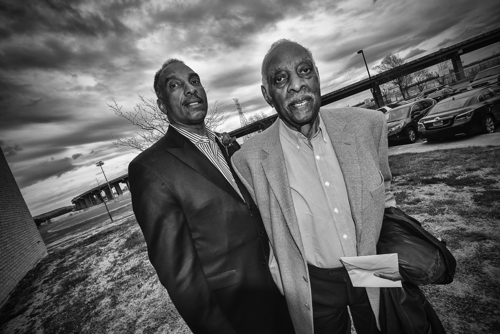 Eddie Bartee Jr. and Eddie Bartee Sr. Eddie Sr. was integral in desegerating the mills at Sparrows Point and was the first black president of Local 2610.
