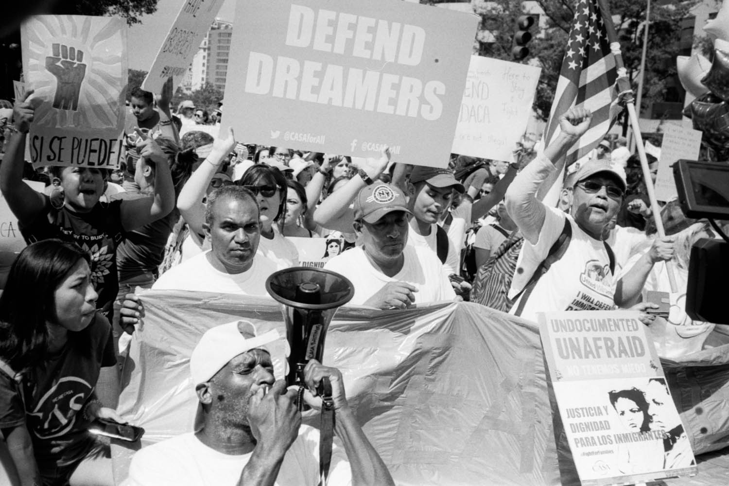 """Defend DREAMERS"" - Washington, D.C., September 2017"