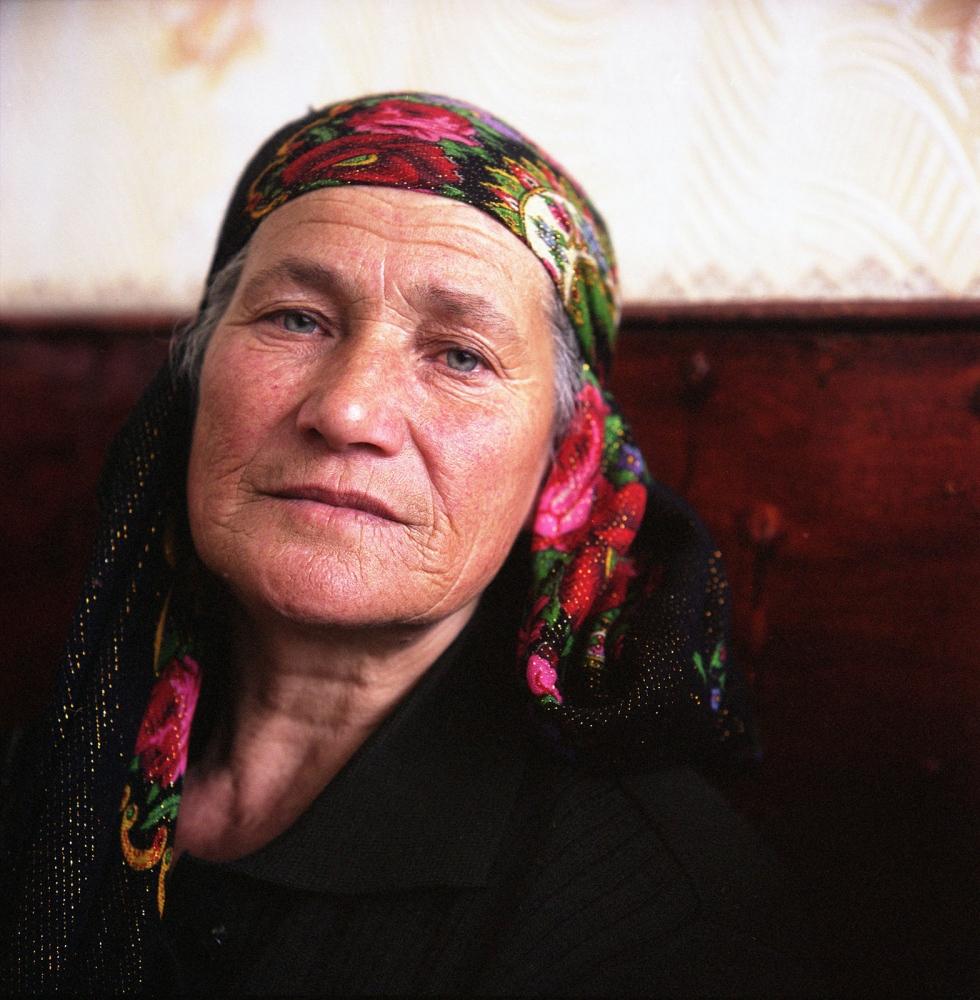 A village elder. Khinaliq, Azerbaijan. 2009