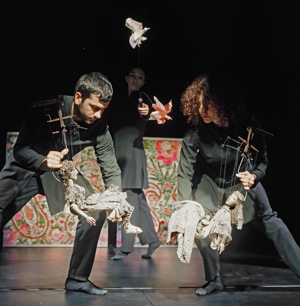 Puppeteers put on a show at the Baku Marionette Theatre, a   small and intricately designed playhouse. The marionettes are handmade and painted by Baku artists.