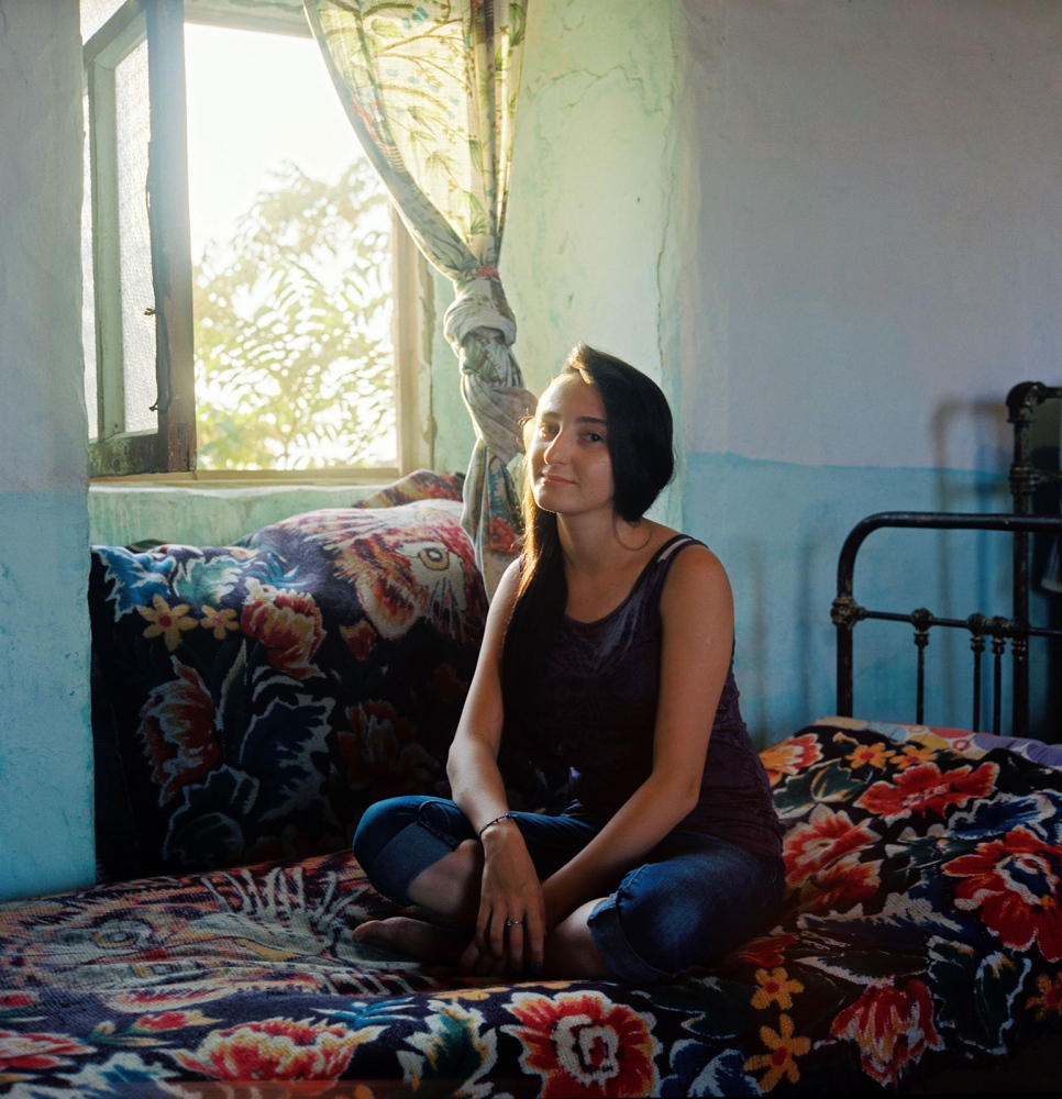 Aygun has been living in Kurdahani village on the outskirts of Baku in her family's dacha all her life.